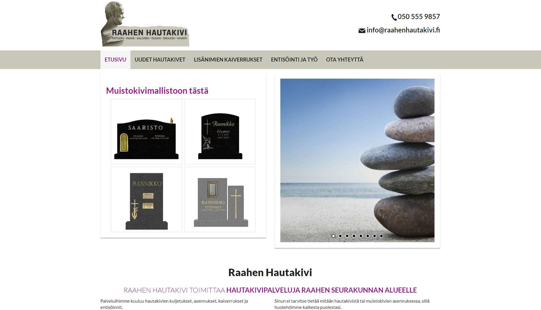 Raahen Hautakivi