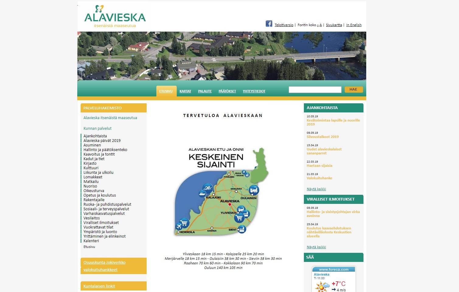 Alavieska
