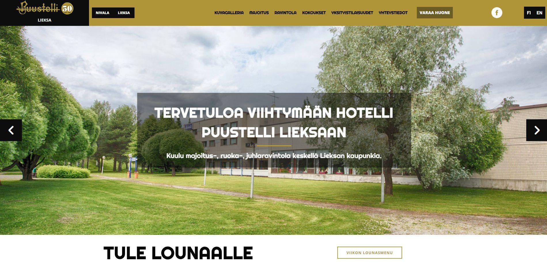 Hotelli Puustelli Lieksa
