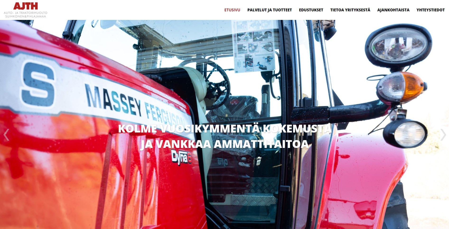 Auto- ja Traktorihuolto Suihkonen & Pihlajamaa