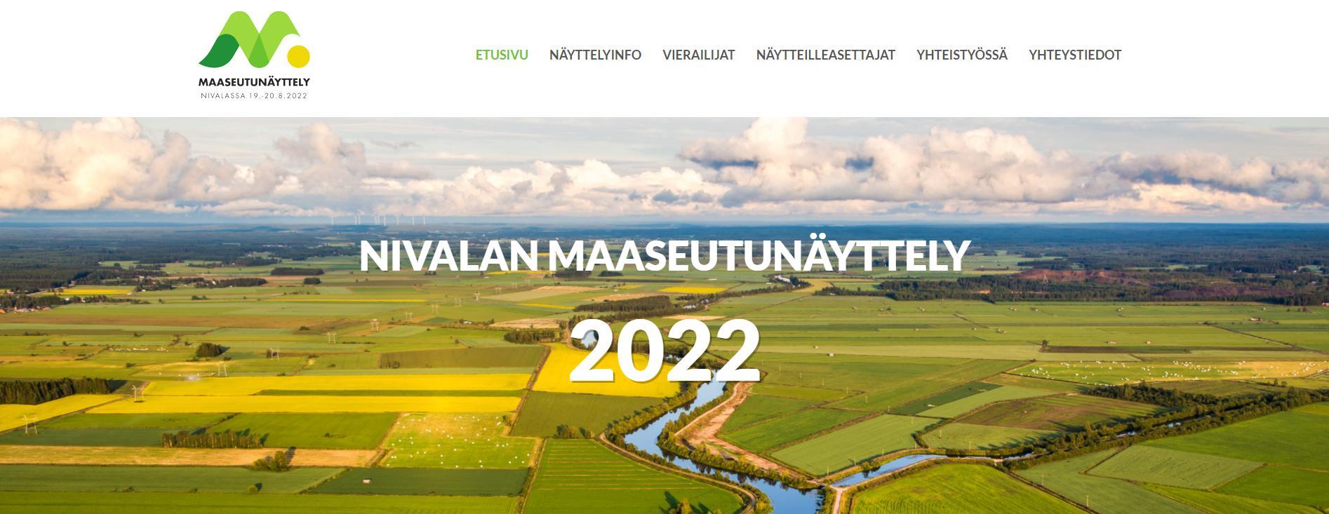 Nivalan maaseutunäyttely 2022