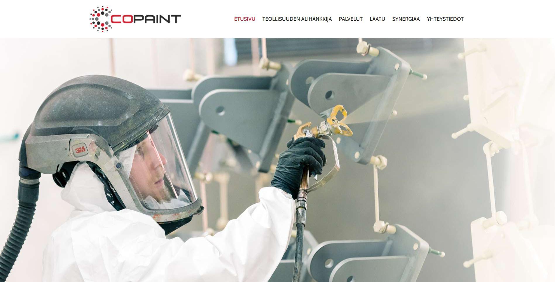 CoPaint verkkosivusto